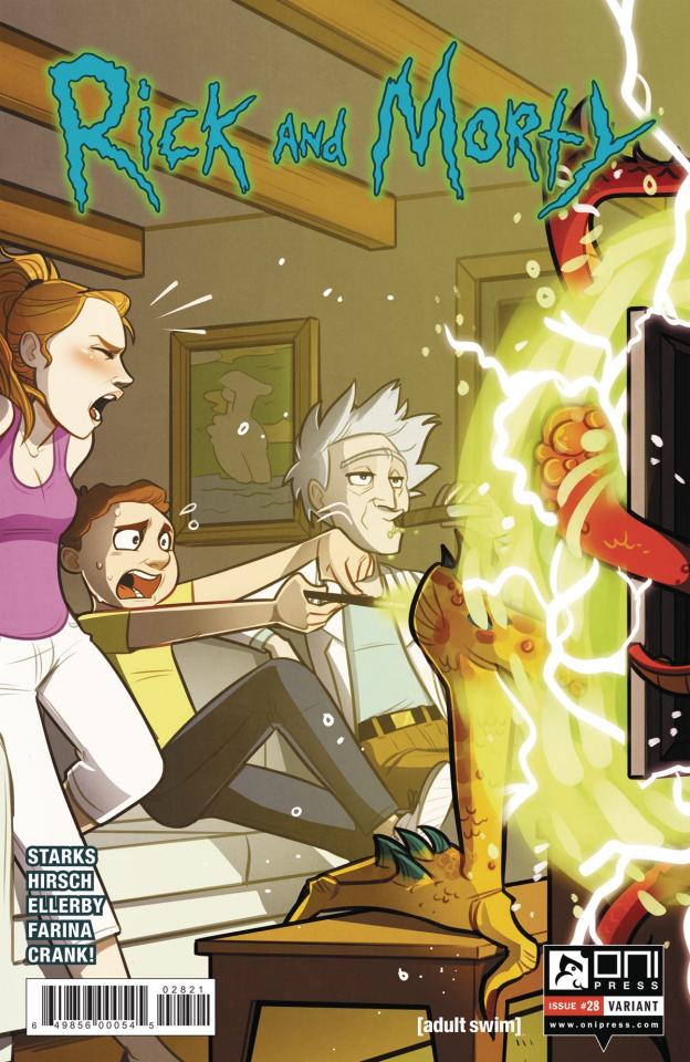 Rick and Morty #28 (St. Onge Cover)