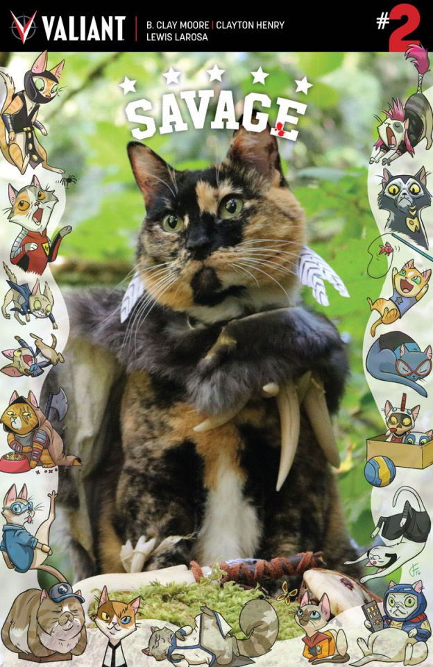 Savage #2 (Cat Cosplay Cover)