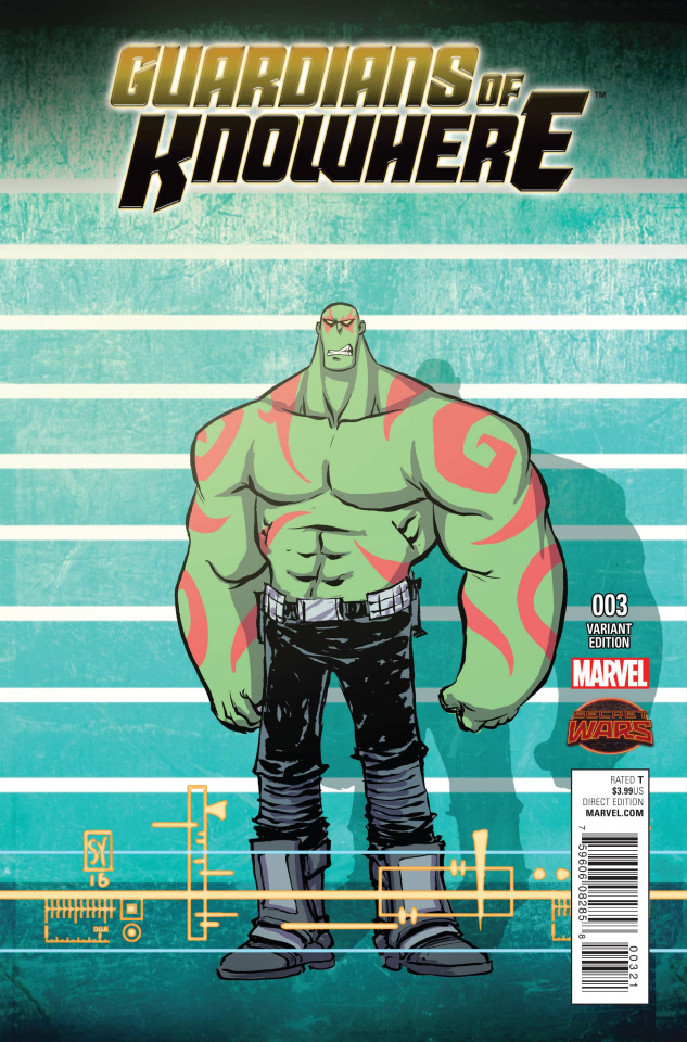 Guardians of Knowhere #3 (Young Connecting Cover)