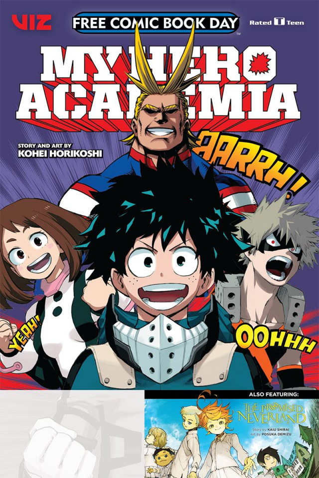 My Hero Academia & The Promised Neverland FCBD 2019
