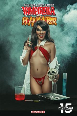 Vampirella vs. Reanimator #3 (Cosplay Cover)