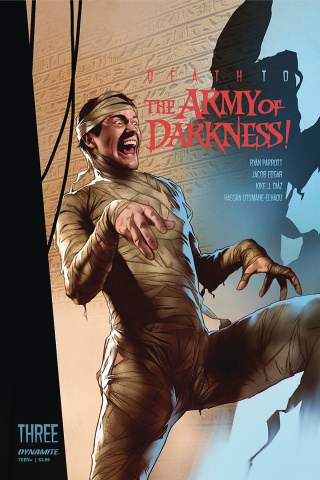 Death to the Army of Darkness #3 (Oliver Cover)