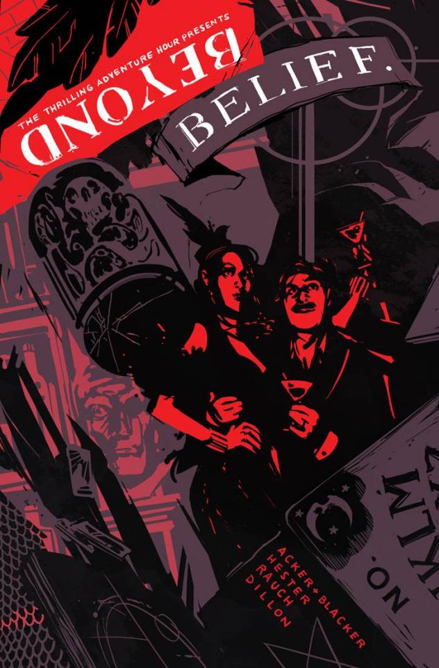 Beyond Belief #1 (Wu Cover)