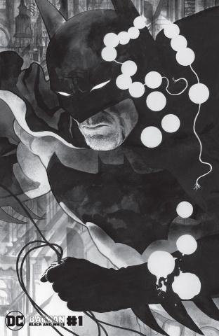 Batman: Black & White #1 (J.H. Williams III Cover)