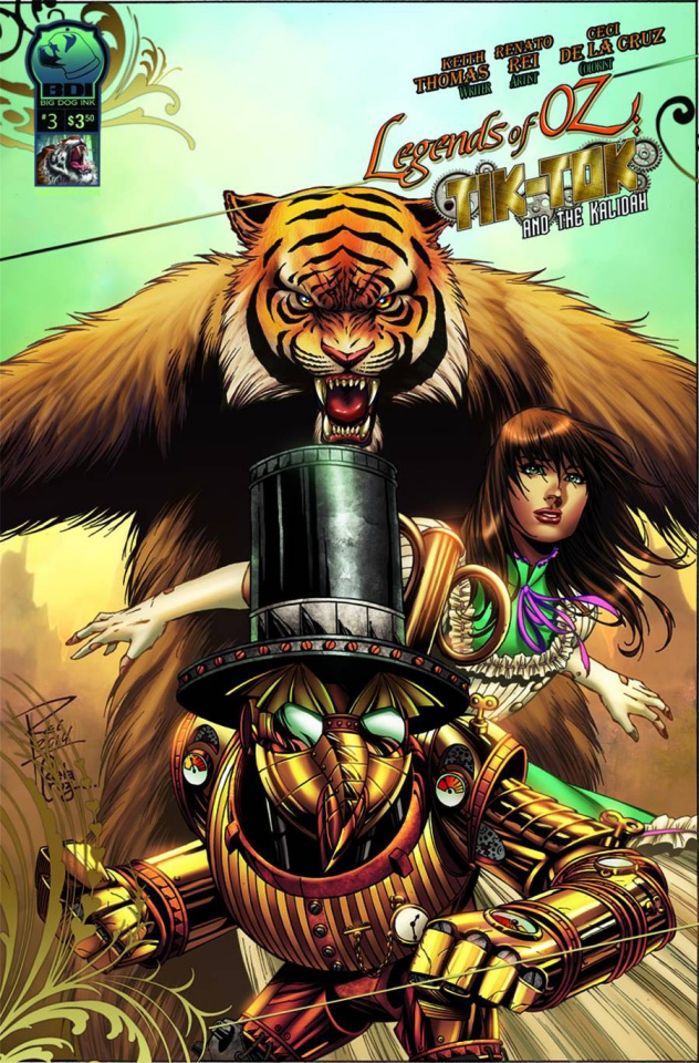 The Legends of Oz: Tik Tok and the Kalidah #3 (Rei Cover)