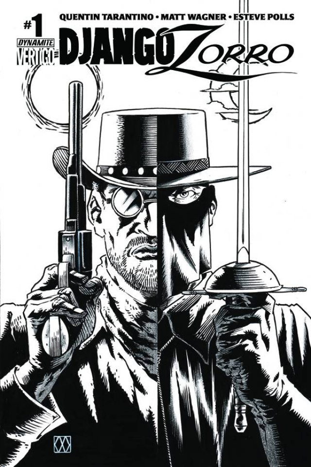 Django / Zorro #1 (25 Copy Cover)