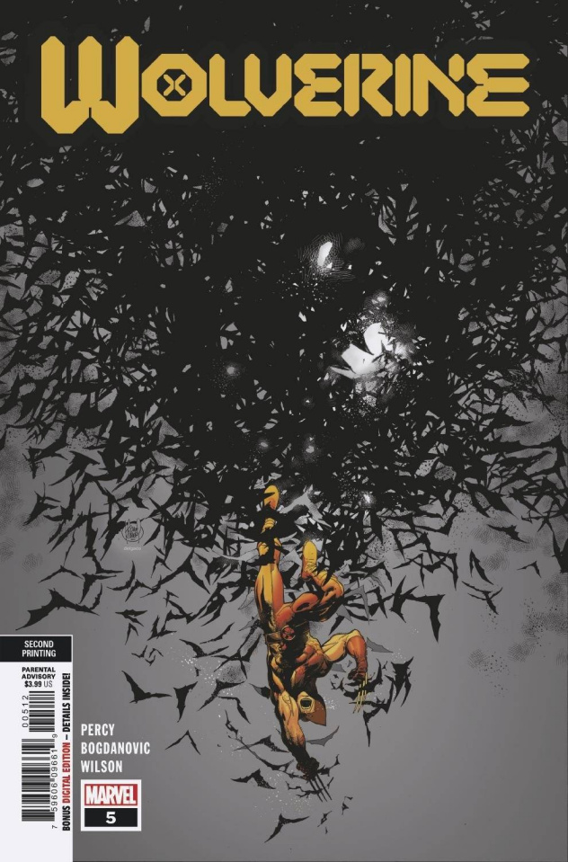 Wolverine #5 (Kubert 2nd Printing)