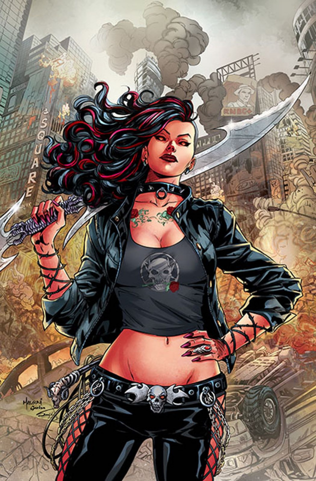 Hellchild: The Unholy #4 (Malsuni Cover)