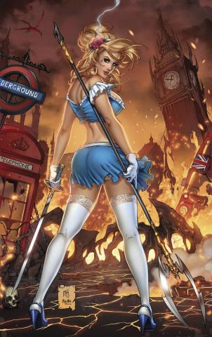 Grimm Fairy Tales: Cinderella #1 (Krome Cover)