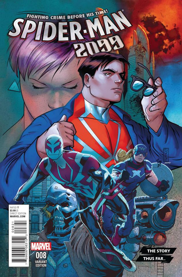 Spider-Man 2099 #8 (Leonardi Story Thus Far Cover)