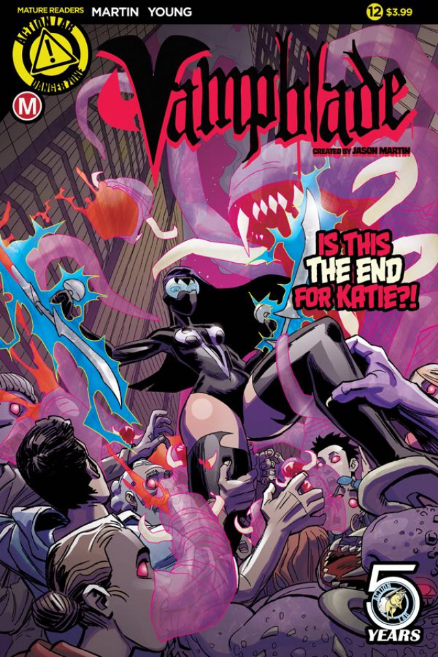 Vampblade #12 (Young Cover)
