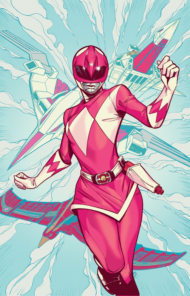 Mighty Morphin' Power Rangers: Pink #4 (50 Copy Joelle Cover)