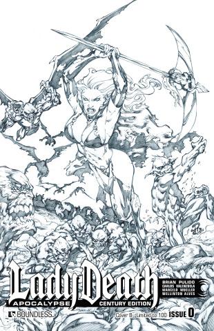 Lady Death: Apocalypse #0 (Century Cover B)