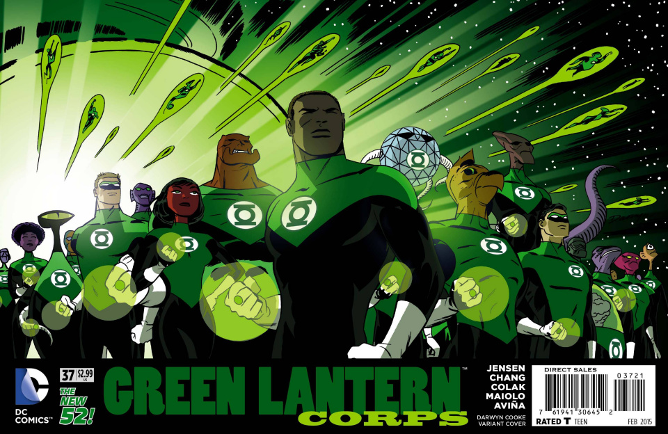 Green Lantern Corps #37 (Darwyn Cooke Cover)
