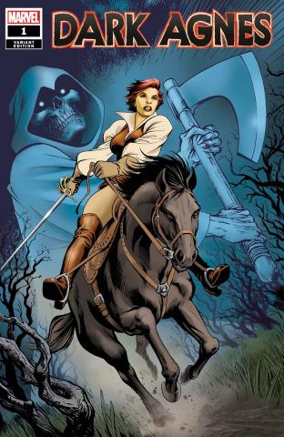 Dark Agnes #1 (Davis Cover)