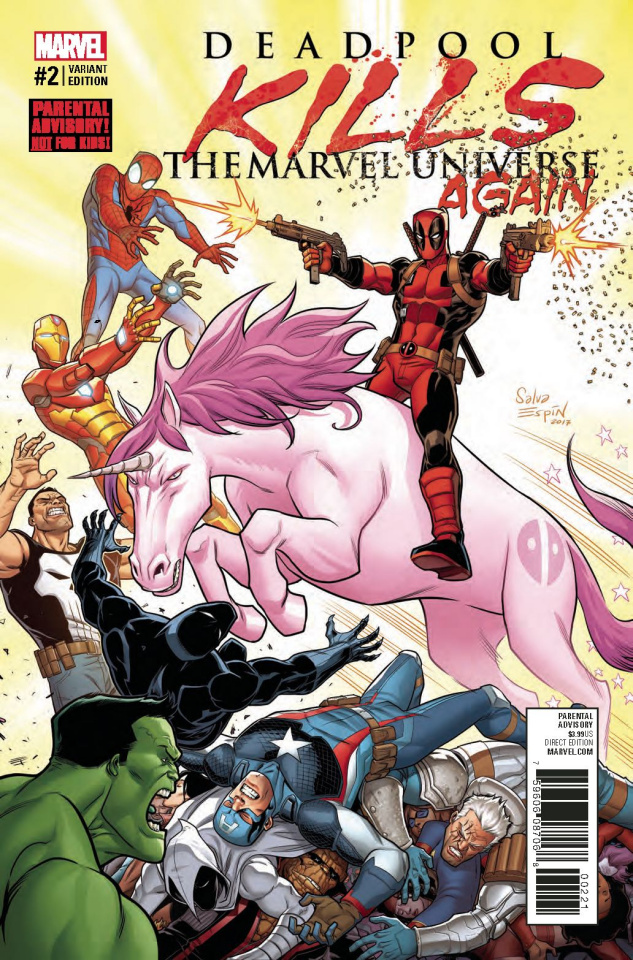 Deadpool Kills the Marvel Universe Again #2 (Espin Cover)