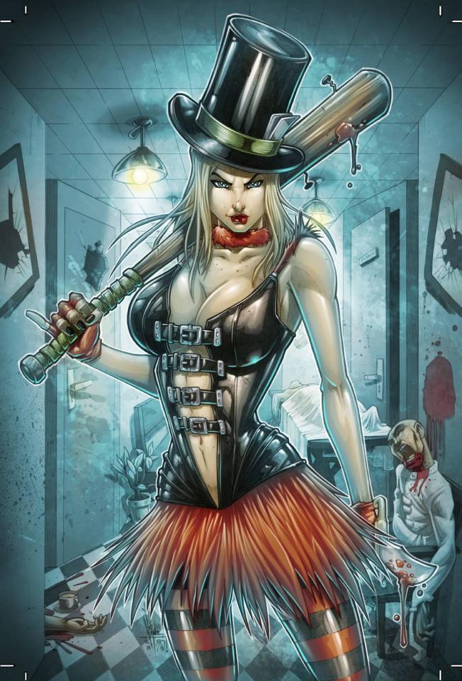 Grimm Fairy Tales: Wonderland - Asylum #4 (El Tabanas Cover)