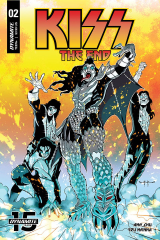 KISS: The End #2 (Qualano Cover)