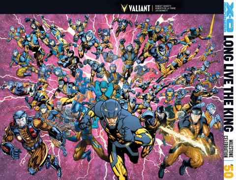 X-O Manowar #50 (All-Star Jam Cover)