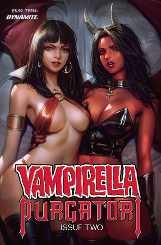 Vampirella vs. Purgatori #2 (Chew Cover)