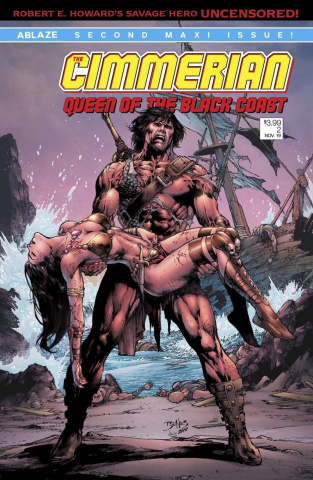 The Cimmerian: Queen of the Black Coast #2 (Ed Benes Cover)