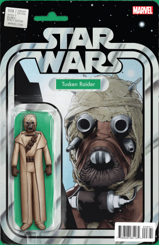 Star Wars #8 (Chistopher Action Figure Cover)