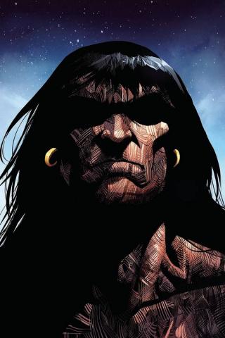 The Cimmerian: Iron Shadows in the Moon #1 (Baldisimo Cover)