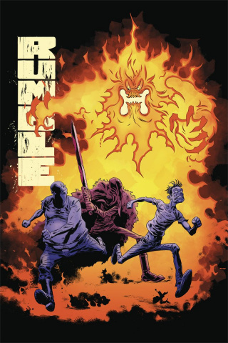 Rumble #6 (Snejbjerg Cover)