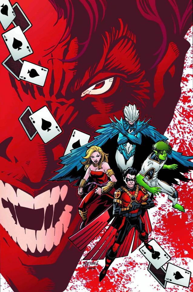 Teen Titans #9 (The Joker Variant)