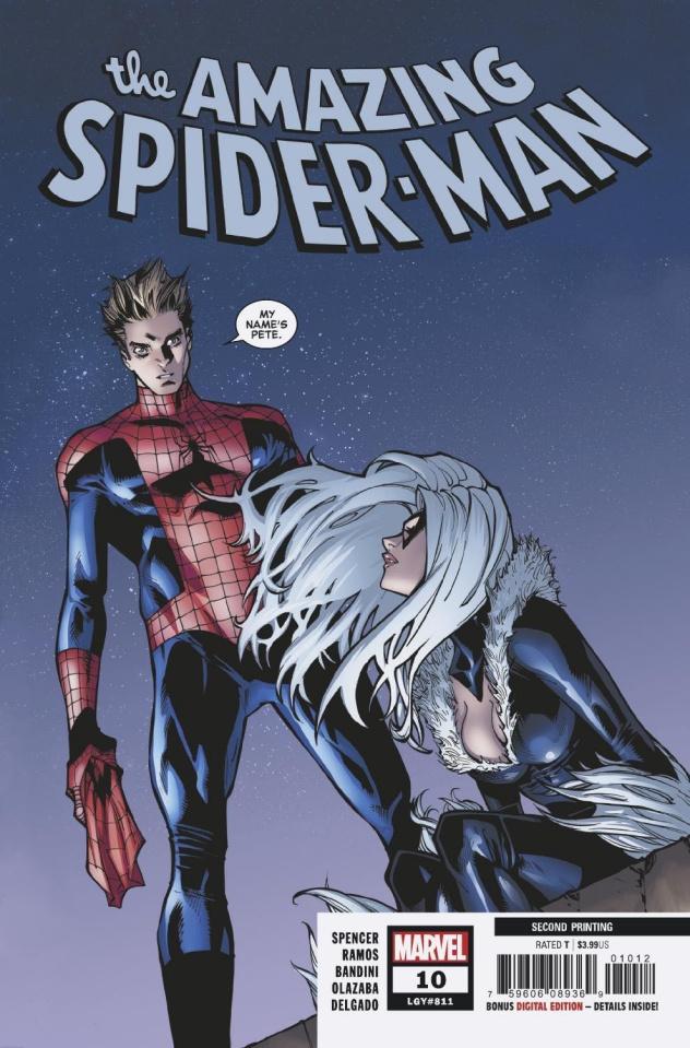 The Amazing Spider-Man #10 (Ramos 2nd Printing)