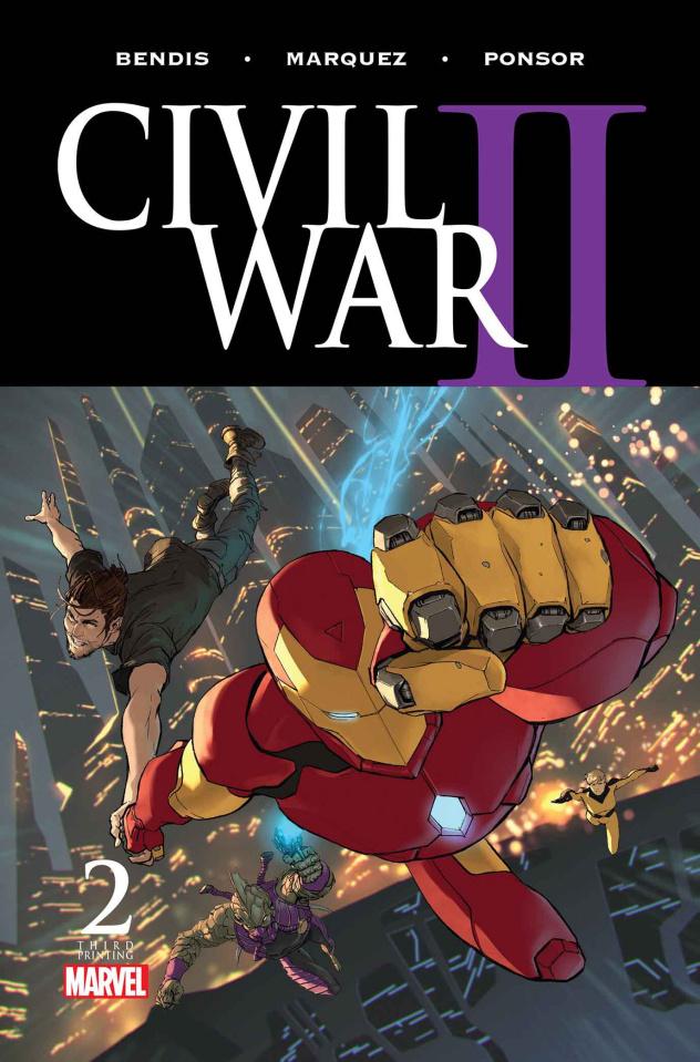 Civil War II #2 (3rd Printing Djurdjevic Cover)