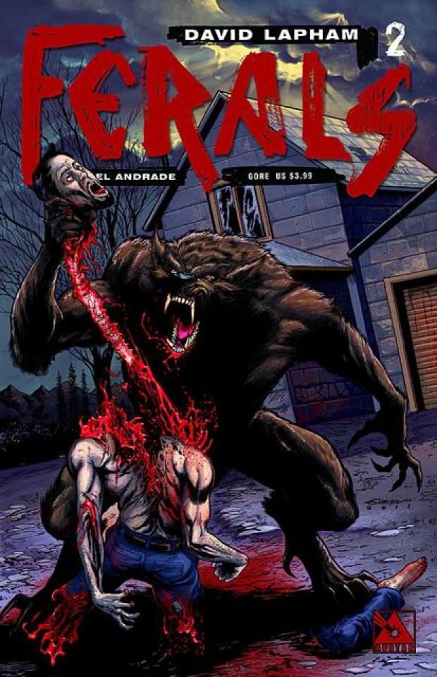 Ferals #2 (Gore Cover)