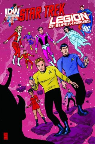 Star Trek / The Legion of Super Heroes #5