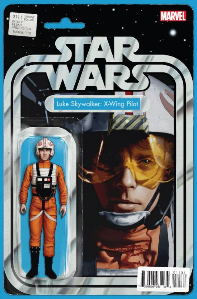 Star Wars #11 (Christopher Action Figure Cover)