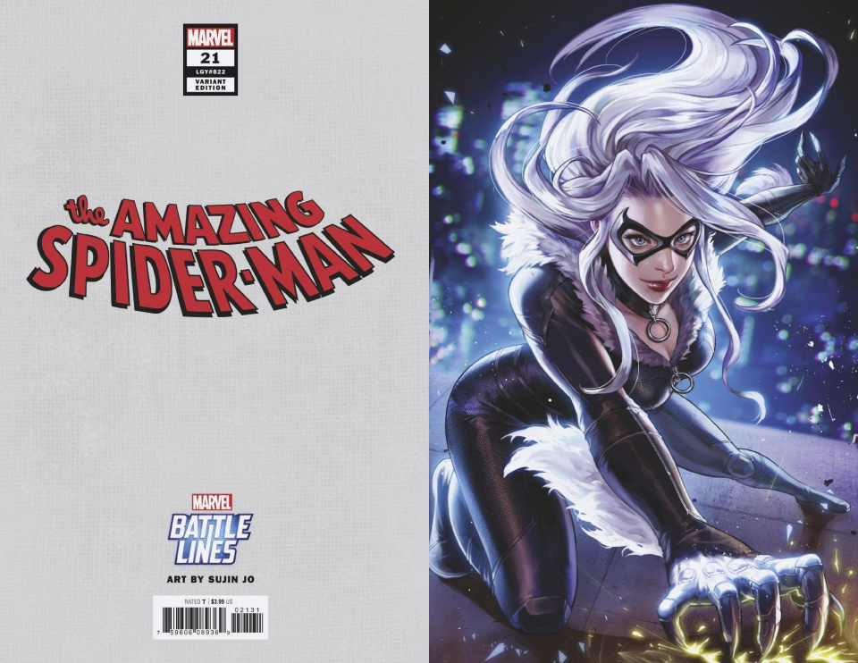 The Amazing Spider-Man #21 (Sujin Jo Marvel Battle Lines Cover)