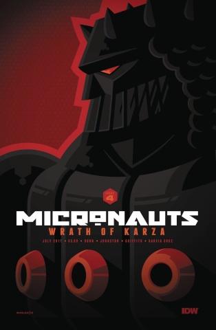 Micronauts: Wrath of Karza #4 (Whalen Cover)