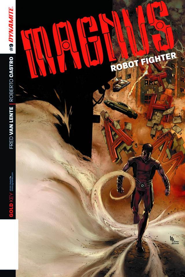 Magnus, Robot Fighter #9 (Lau Cover)