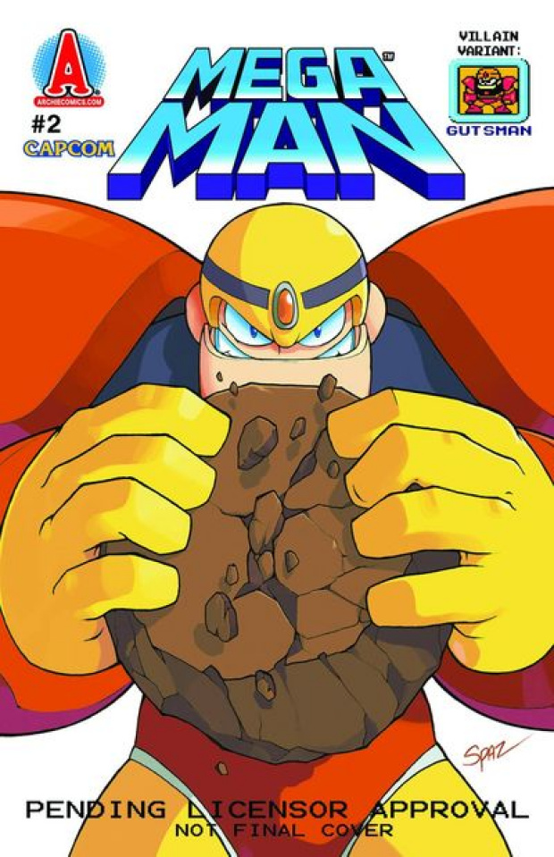 Mega Man #2 (Villain Cover)