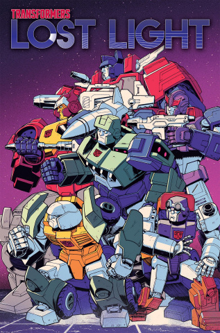 The Transformers: Lost Light Vol. 4