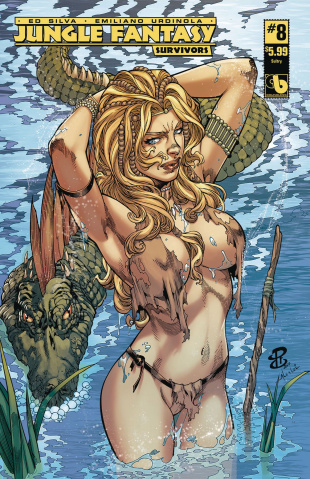 Jungle Fantasy: Survivors #8 (Sultry Cover)