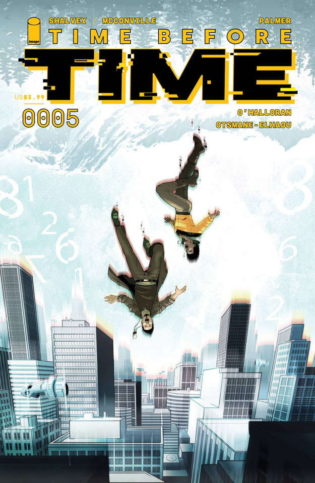 Time Before Time #5 (Byrne Cover)