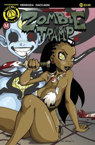 Zombie Tramp #33 (Mendoza Cover)