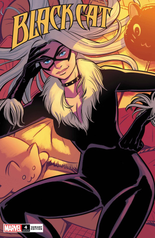 Black Cat #4 (Bustos Cover)