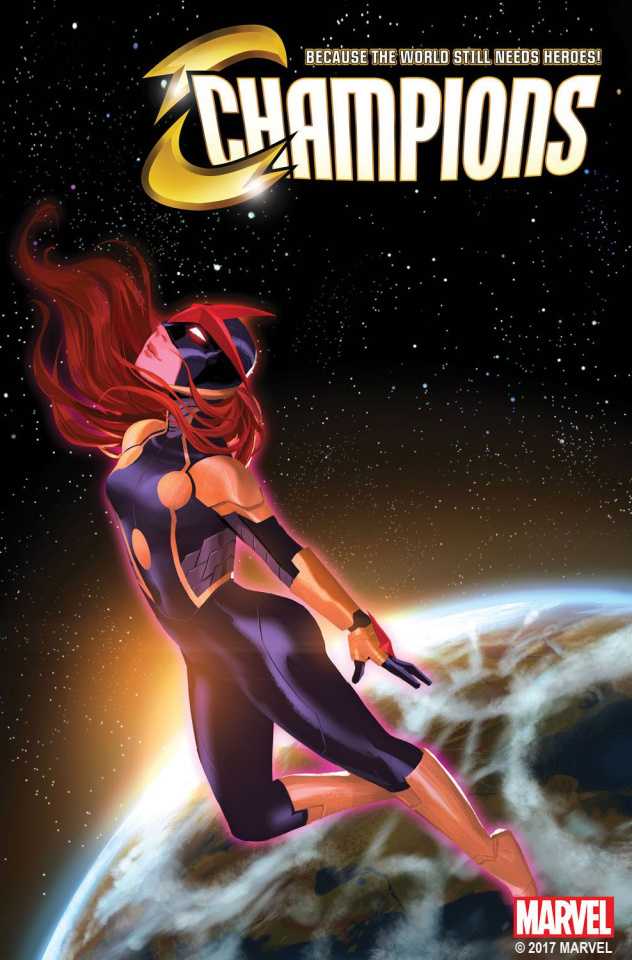 Champions #9 (Chen Mary Jane Cover)