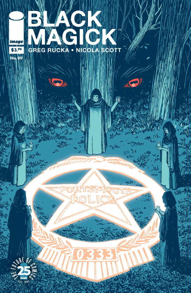 Black Magick #9 (Chiang Cover)