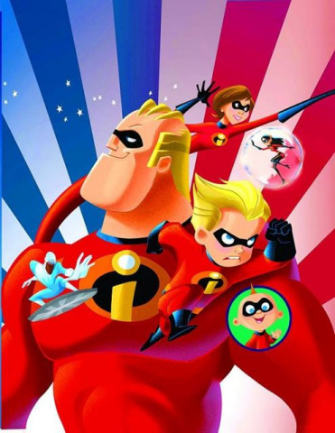 Disney Pixar Presents: Incredibles - Family Matters