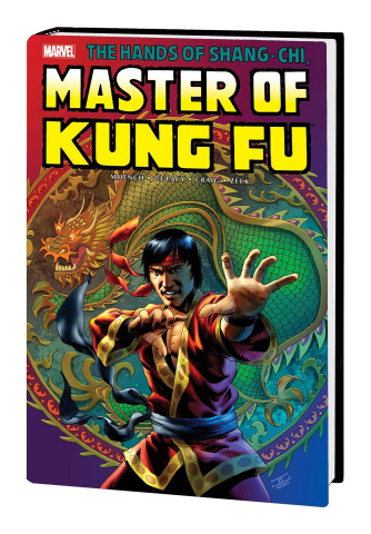 Shang-Chi: Master of Kung Fu Vol. 2 (Cassaday Cover, Omnibus)