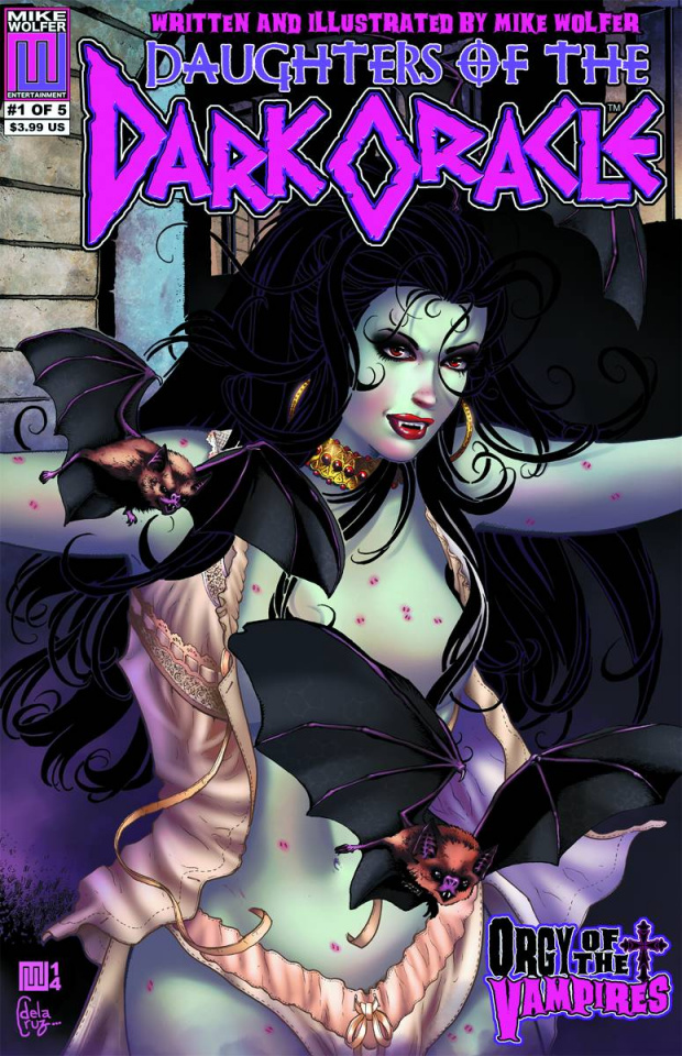 Daughters of the Dark Oracle #1 (Orgy of Vampires Cover)