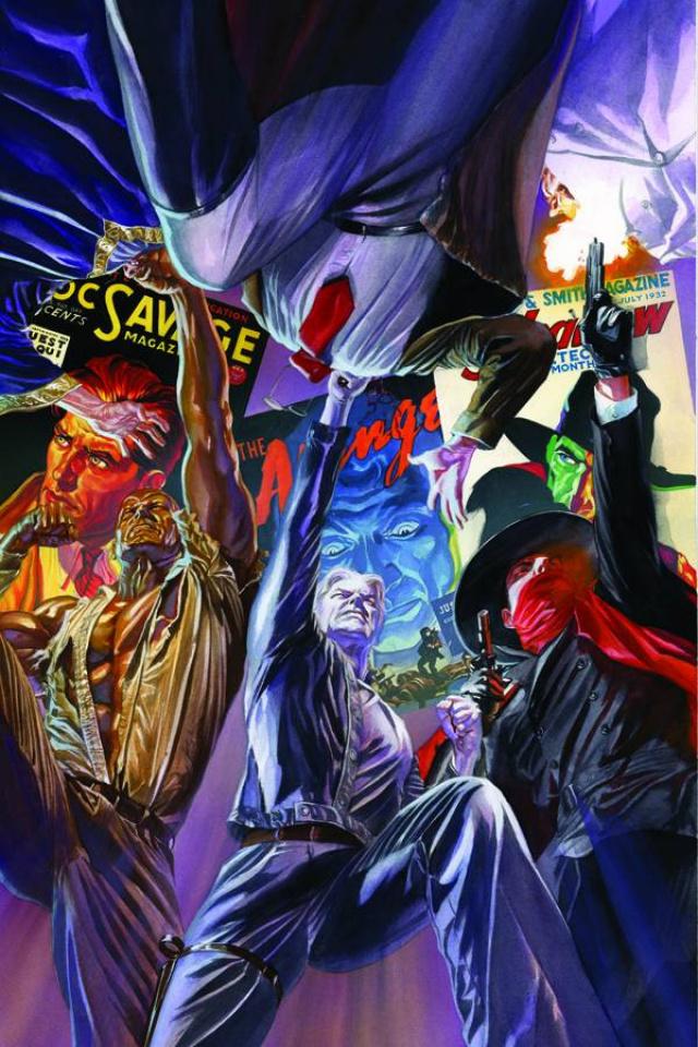 Justice, Inc. #6 (Rare Ross Virgin Art Cover)