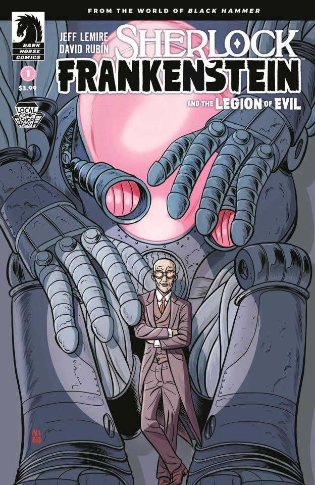 Sherlock Frankenstein and the Legion of Evil #1 (LCSD 2017)